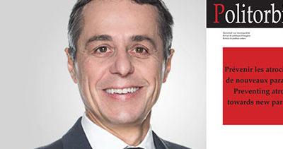 Ignazio Cassis met GESDA en lumière dans son éditorial de «Politorbis»