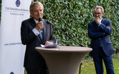 General Assembly of the Diplomatic Club of Geneva: Speech by Mr. Ivan Pictet